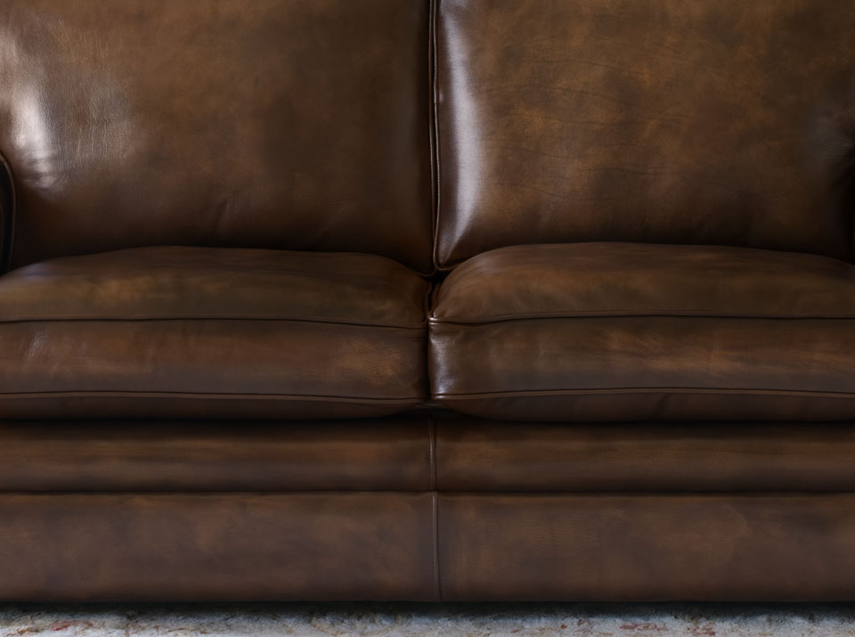 carmen leather chesterfield sofa