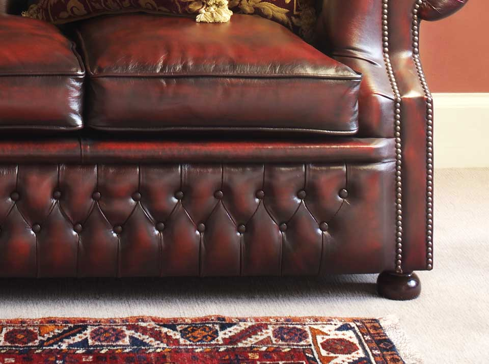 graham leather chesterfield sofa