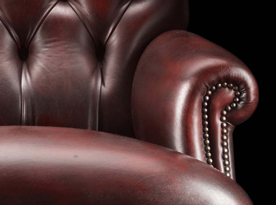 Havelock Ellis Leather Chesterfield Chair
