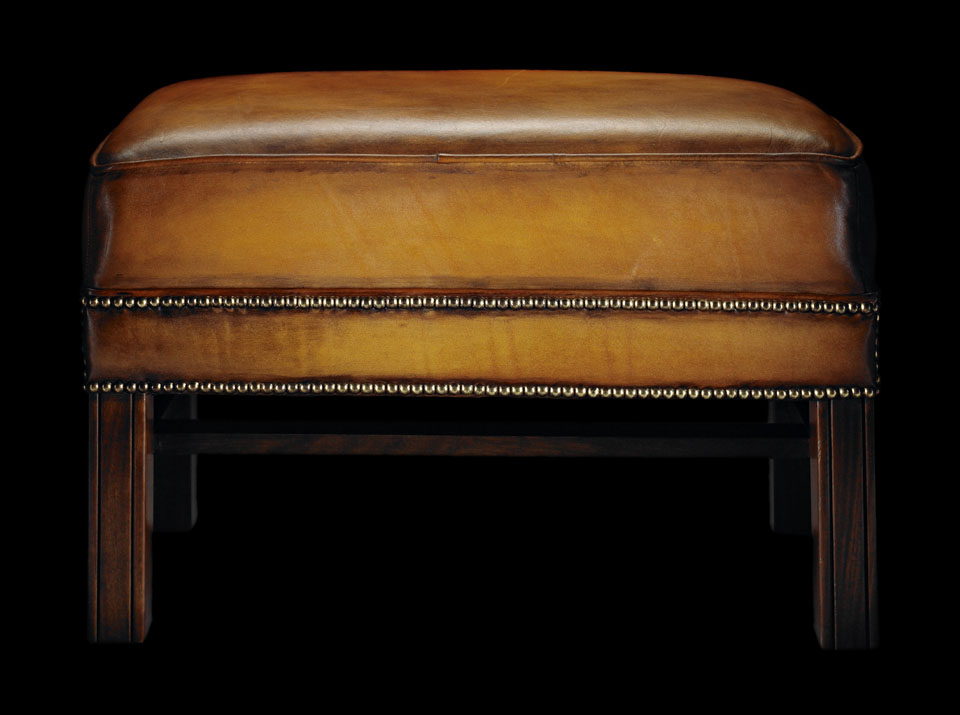 Henry Thoreau Chesterfield stool