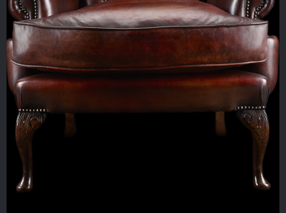 James Boswell Chesterfield chair legs