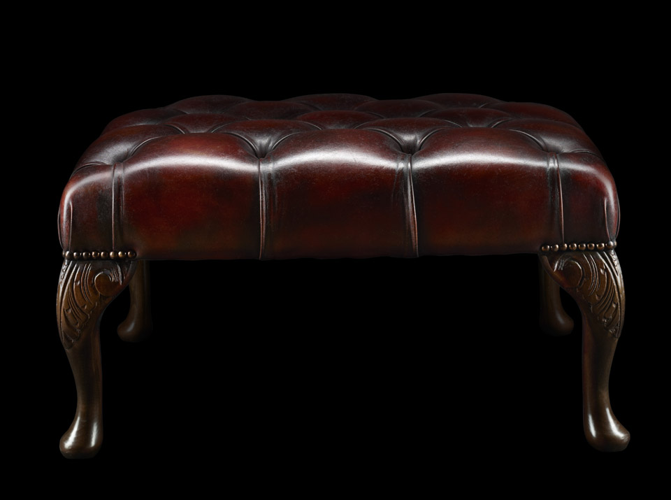James Boswell Chesterfield stool