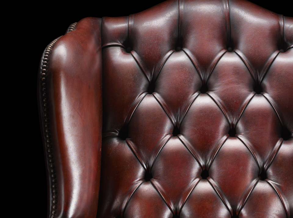 James Boswell Chesterfield chair