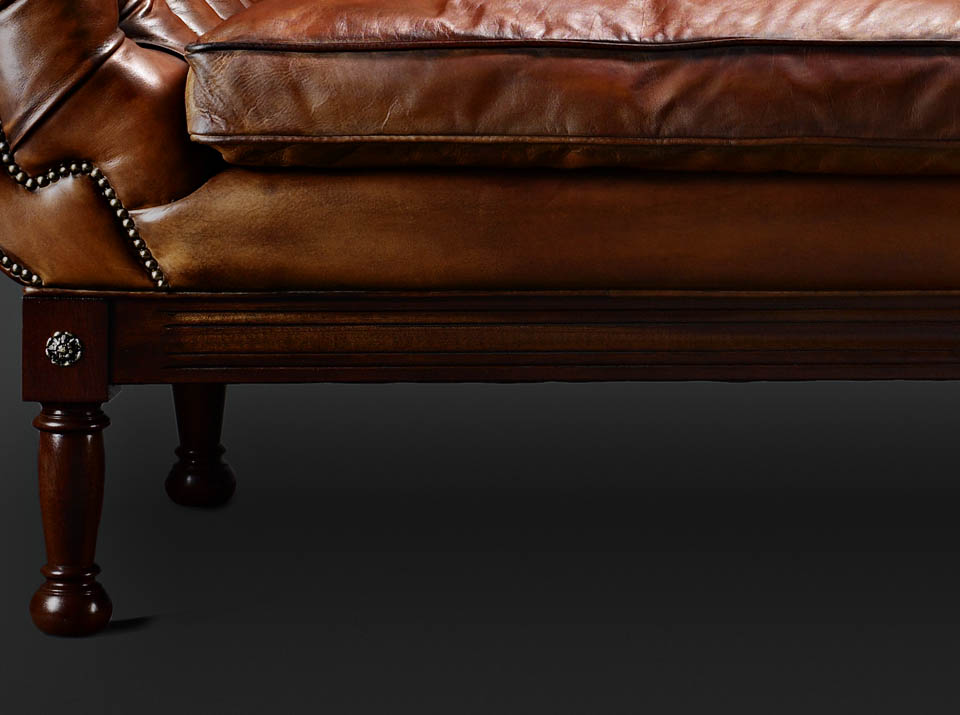 John Hawkesworth chesterfield sofa legs