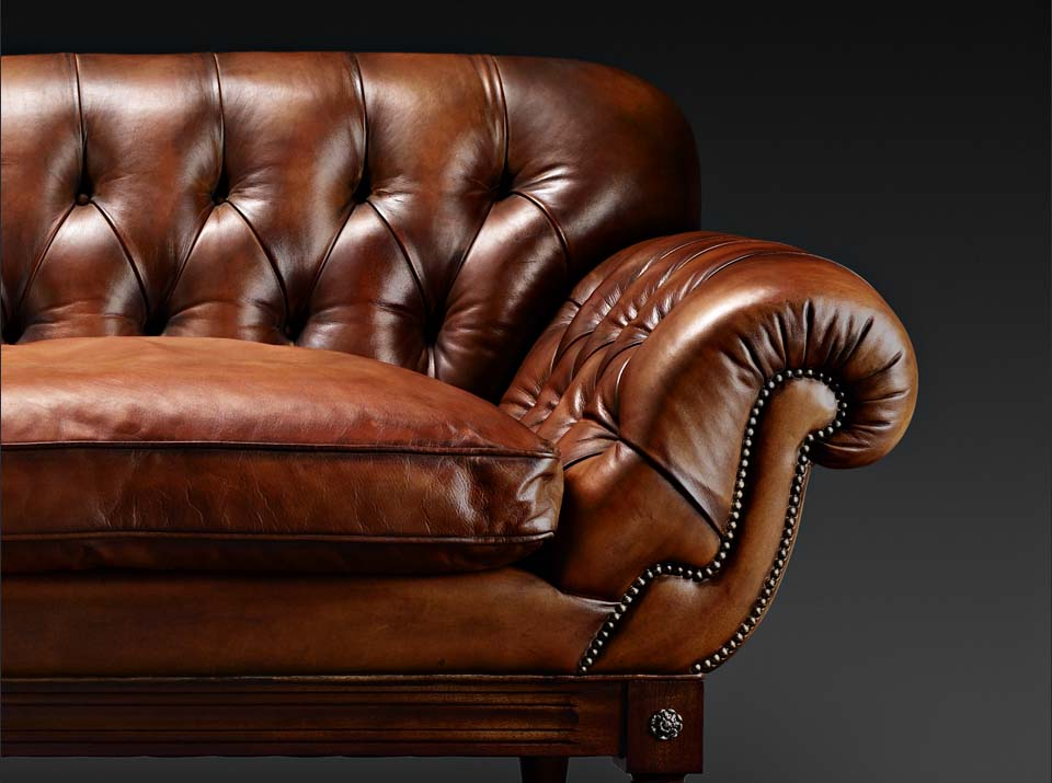 John Hawkesworth chesterfield sofa arm