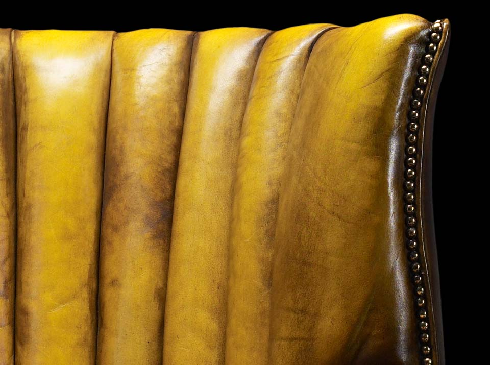 heirloom oliver goldsmith gold chair