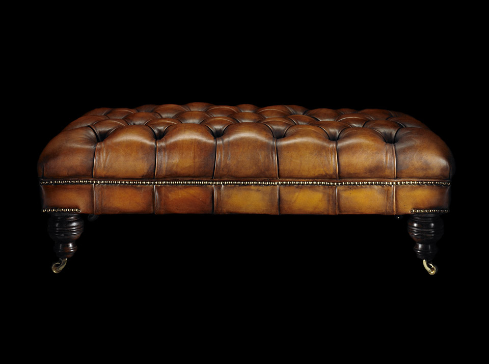 heirloom philip stanhope chesterfield stool