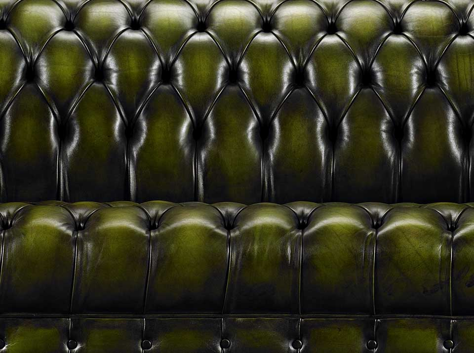 green heirloom emerson chesterfield sofa