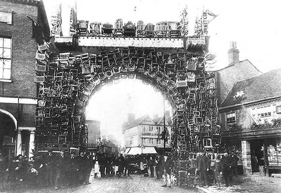 old picture of high wycombe