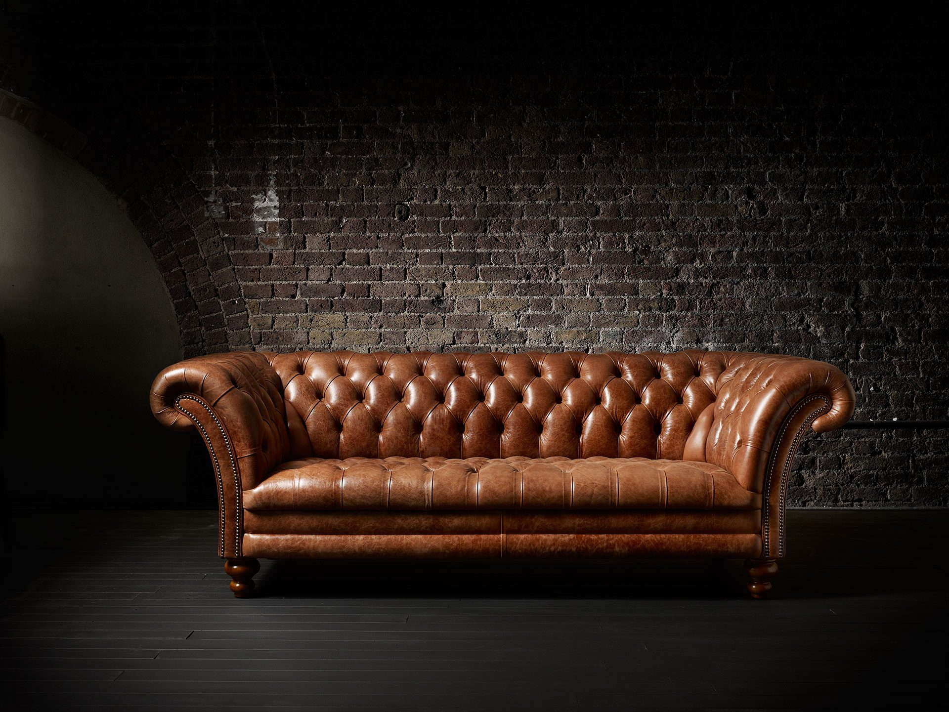 Chesterfield sofa Fleming & Howland