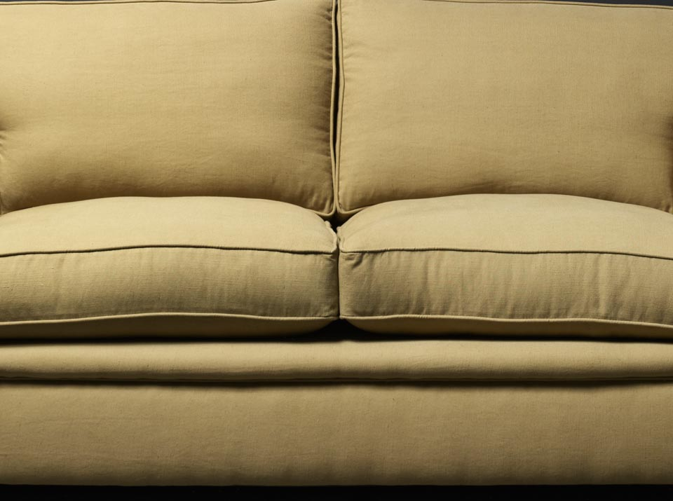 carmen linen chesterfield sofa