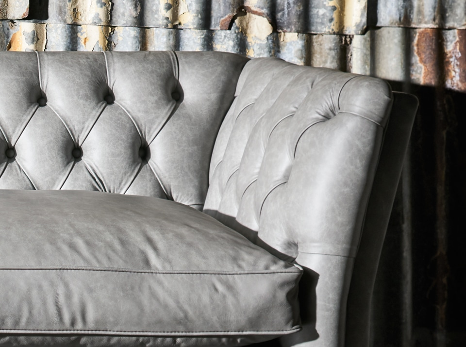 crackle chesterfield sofa